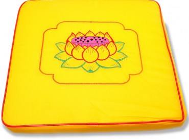 Cushion for Zen Meditation with Lotus