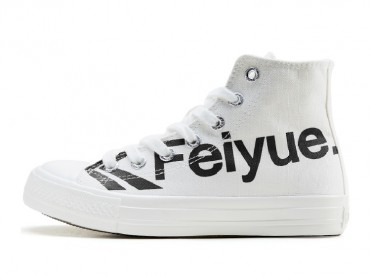 Feiyue Shoes 2019 New Classic Spring Summer High Top Canvas Loves Letter Shoes