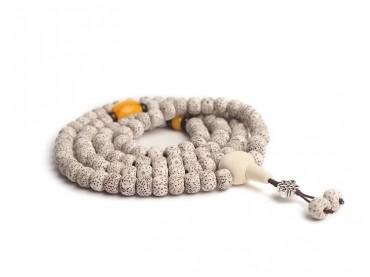 Traditional Tibet Buddhist Prayer Wrap Bracelet Necklace 108 Bodhi Beads Mala