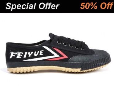 Feiyue Kids Martial Arts Shoes Black