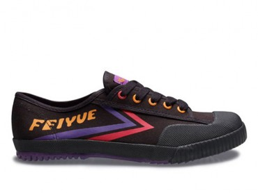 Feiyue Lo Canvas Sneakers -  Black Shoes