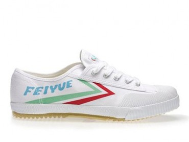 Feiyue Lo Multi Coloured Shoes - White/Red/Green