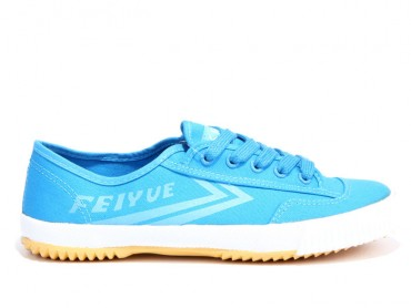 Feiyue Plain Canvas Sneakers -  Blue Shoes