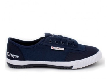 Feiyue Lo Plain II Sneaker - Navy Blue Shoes