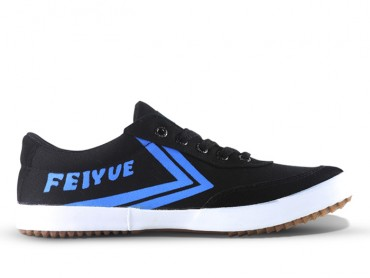 Feiyue A.S Canvas Low Top Sneakers - Black Shoes