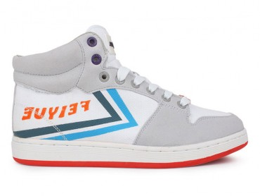 Feiyue 10N28E Canvas Shoes - White/Red Shoes