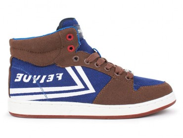Feiyue 10N28E Canvas Shoes - Brown Shoes