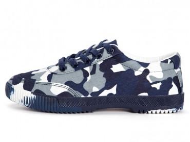 Feiyue 2017 New Camouflage Retro Sports Shoes Blue