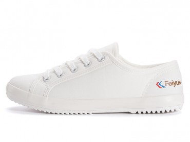 Feiyue 2017 New Tennis Low Top Canvas Shoes White