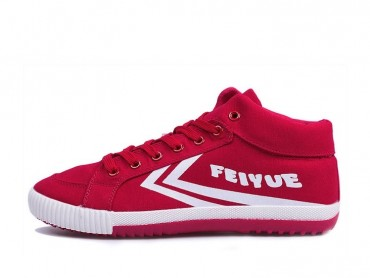 Feiyue DELTA MID Sneakers 2015 New Style - Red Shoes