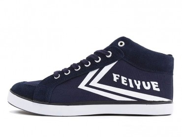 Feiyue DELTA MID Sneakers 2015 New Style - Navy White Shoes