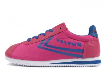 Feiyue Jogging Shoes 2015 New Style Pink Blue