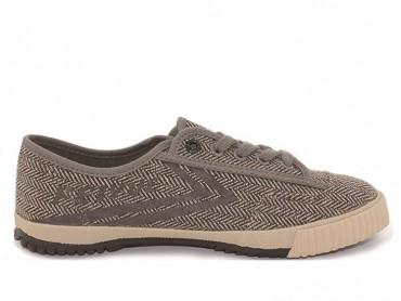 Feiyue Plain Lovers Sneaker - Light Brown Shoes