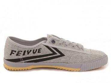 Feiyue Plain Lovers Sneaker - Light Gray Shoes