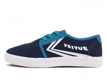 Feiyue Shoes 2015 New Style Blue Plain Sneaker