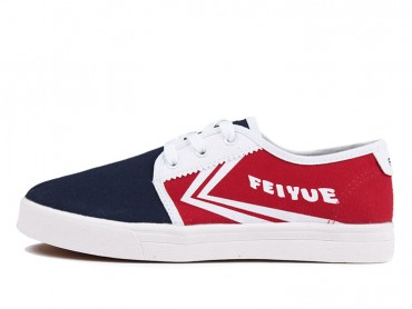 Feiyue Shoes 2015 New Style Blue Red Plain Sneaker
