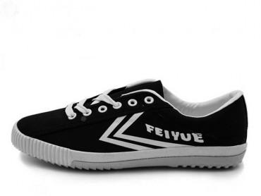 Feiyue Shoes 2015 New Style Black White Plain Sneaker