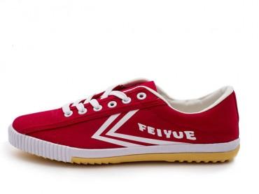 Feiyue Shoes 2015 New Style Red White Plain Sneaker