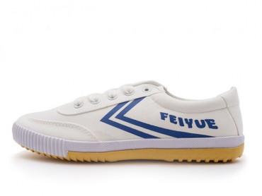 Feiyue Lo Plain 2015 New Style White Blue Sneaker