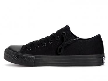 Feiyue Shoes 2017 New Style Plain Sneaker Black