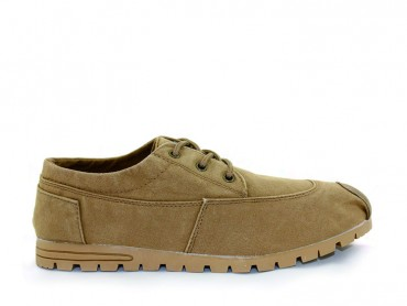 Feiyue Sneakers British Style Low tops for Men Camel