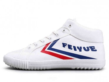 Feiyue Shoes Classic Blue and Red Stripes High Top 2016 Style
