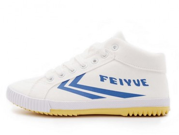 Feiyue Shoes 2015 New Style High Top White Blue