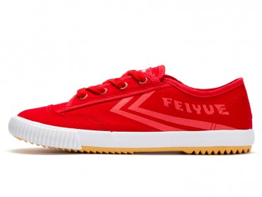 Feiyue shoes Shaolin Kung Fu Shoes Updated Version Red