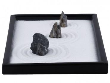 ICNBUYS Zen Garden Blue Dragon Stones Set with Free Rake and Pushing Sand Pen