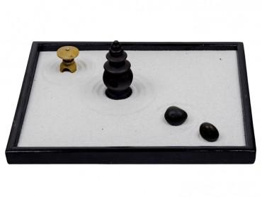 ICNBUYS Zen Garden Japanese Censers Set with Free Rakes and Pushing Sand Pen