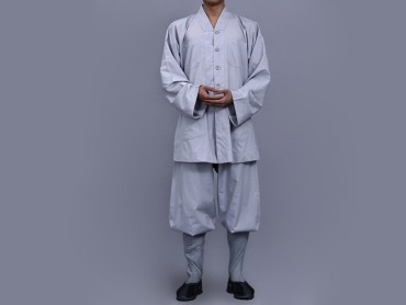 Shaolin Kung Fu Clothing Darcon Grey