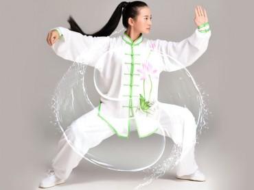Tai Chi Clothing Traditional Lotus Pattern