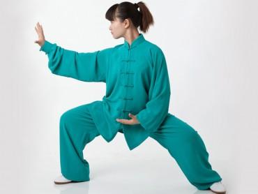 Tai Chi Clothing Professional Green Yaxin