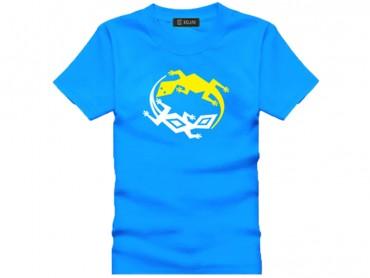 Tai Chi T-shirt Lizard Blue