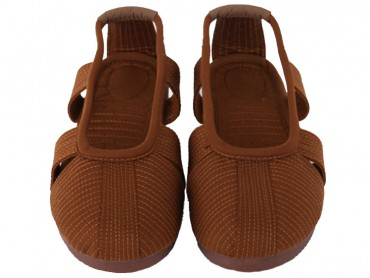 Traditional Shaolin Kung Fu Shoes Cowhells Sole Ochre