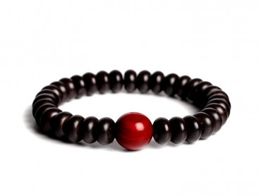 Traditional Tibet Buddhist Prayer 18 Indonesia Coconut Shell Beads with Lobular rosewood Mala