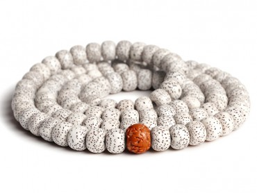 Traditional Tibet Buddhist Prayer Wrap Bracelet Necklace 108 Bodhi Beads with King Kong Bodhi Mala