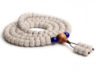 Traditional Tibet Buddhist Prayer Wrap Bracelet Necklace 108 Bodhi Beads With Sandalwood Mala