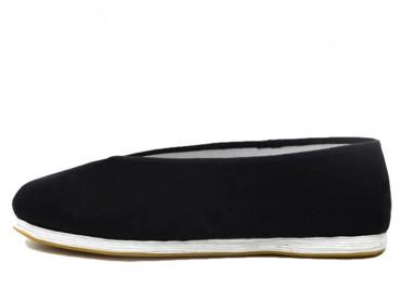 Vintage Hand Made Kung Fu Shoes Black