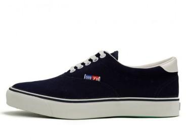 Warrior Footwear Classic Casual Sneaker Navy