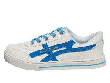 Warrior Footwear Lovers Casual Shoes White Gem Blue