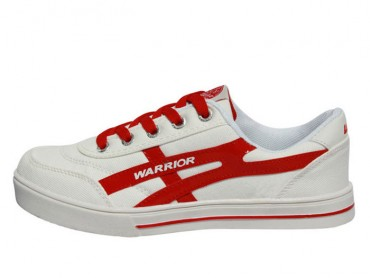 Warrior Footwear Lovers Casual Shoes White Red