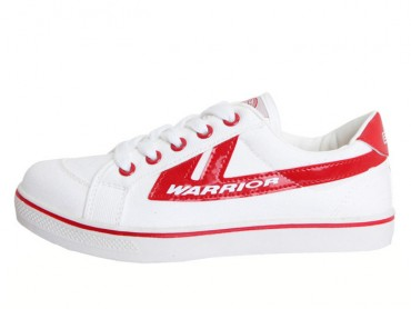 Warrior Footwear Lovers Sneaker White Red