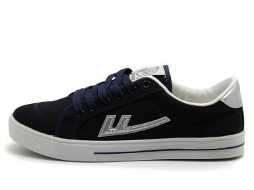 Warrior Footwear Navy Canvas Sneaker