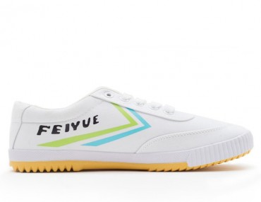 Feiyue Shoes 2015 New Style White Green Blue Plain II Sneaker