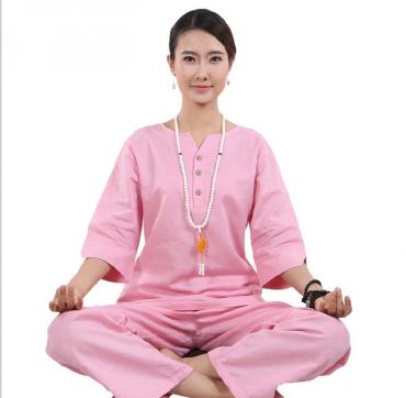 Original Summer Autumn Zen Meditation Women Cotton Uniform