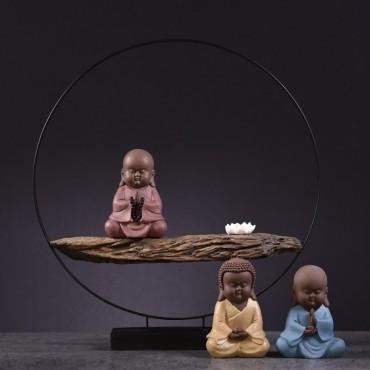 Modern Chinese Style Original Zen Buddha Ornament Handicraft Decoration