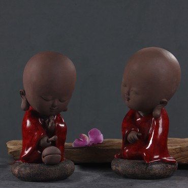 Original Retro Chinese Style Zen Monk Handicraft Ornament Decoration