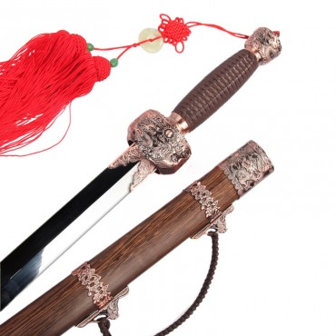 Tai Chi Sword Prosperity Brought by the Dragon and the Phoenix