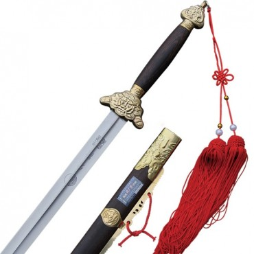 Tai Chi Sword Tai Chi and Big Dipper Pattern Tiger Fitted